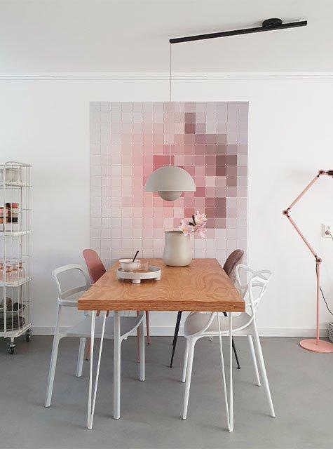 Lightswing Dining Table (Single Matt Black)